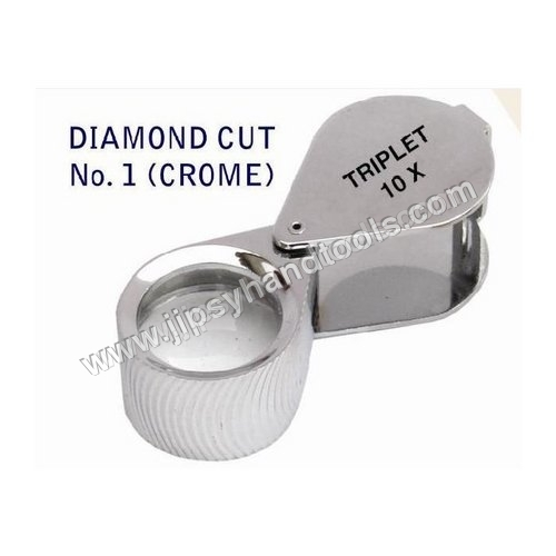 Diamond Cut (Crome) Eye Loupe