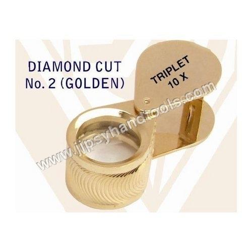 Diamond Cut (Golden) Eye Loupe