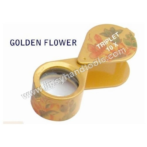Golden Flower Eye Loupe