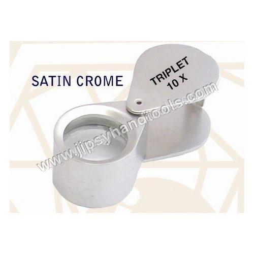 Satin Chrome Eye Loupe
