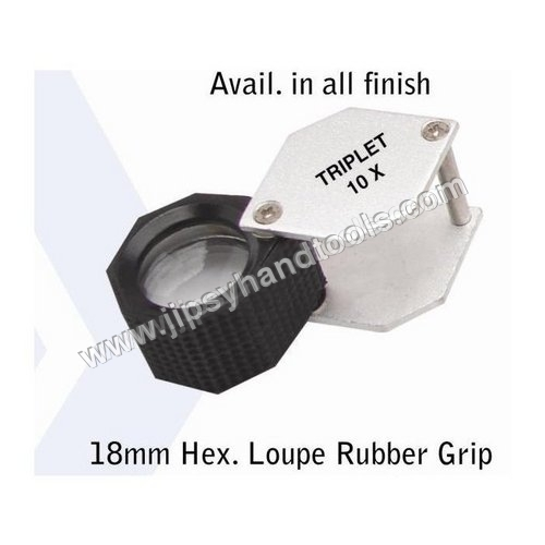 Hex Eye Loupe Rubber Grip