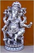 Matel Ganesh Statue