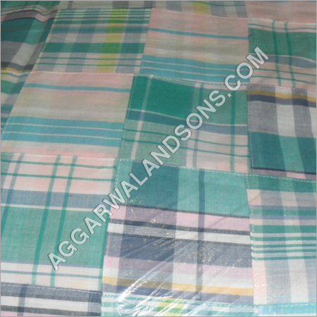 Checked Cotton Fabric