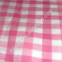 Solid Check Fabric