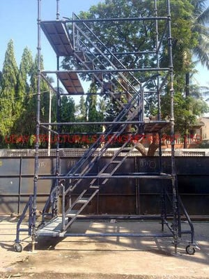 Staircase Mobile Tower