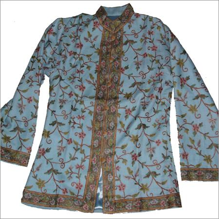 Woolen Embriodery Short Jackets