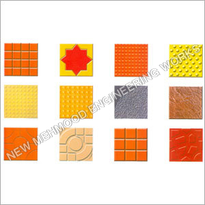 Designer Chequered Tiles Moulds