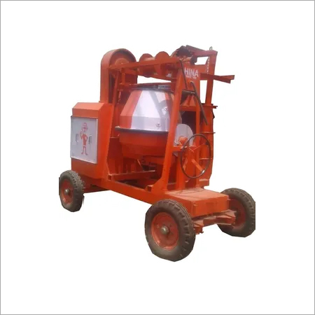 2 Tower Lift Concrete Mixer Machine
