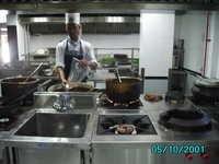 Industrial Kitchen Work Station