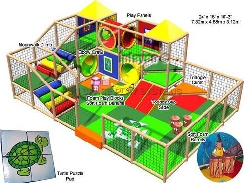 Soft Modular Play Zone-Medium Sized