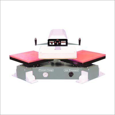 P-Numatic Heat Transfer Sticker Machine Double Bed