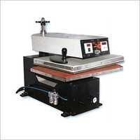 P-Numatic Heat Transfer Sticker Machine Single Bed