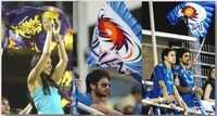Indian Premier League's Flags