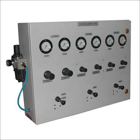 Pneumatic Cylinders,  Control Panel & Valves