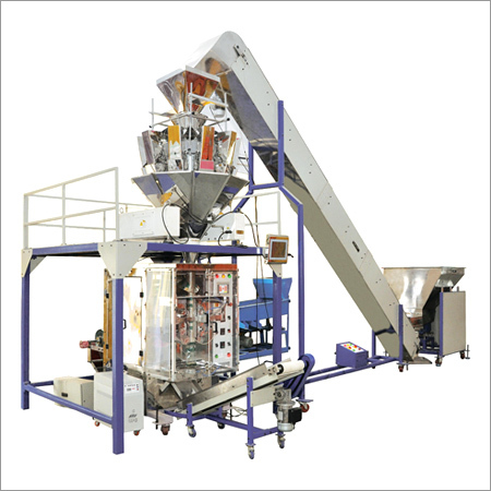 Automatic PLC Controled Vertical FFS(Collar type)