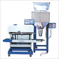 Vertical Pouch Sealer With Load Cell Weigher