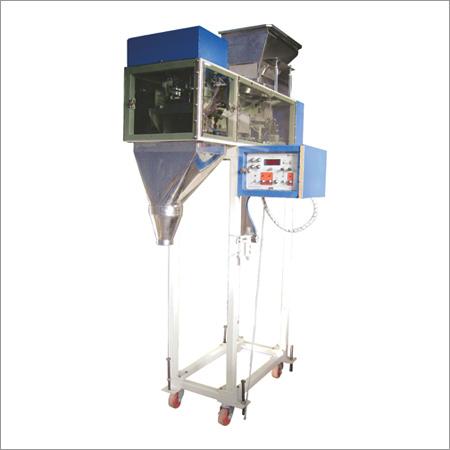 Load Cell Controlled Weigh Filler