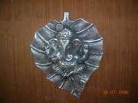 Metal Ganesh Patta