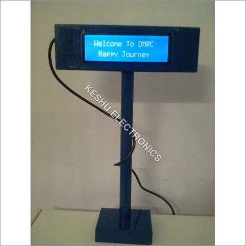 Electronic Customer Display