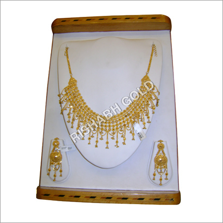 Ladies Gold Jewelry Set