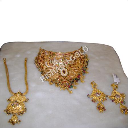 Gold Jewelry Set