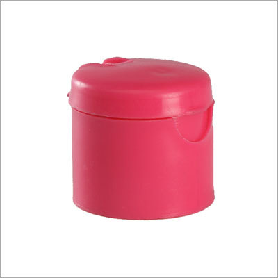 Colored Plastic Flip Top Cap