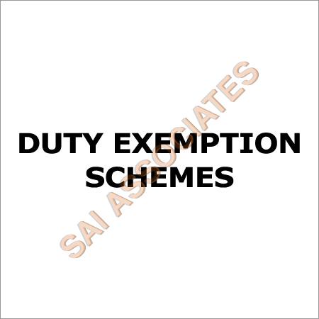 Duty Exemption Schemes