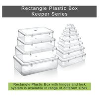 Rectangle Transparent Plastic Box