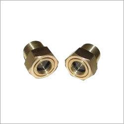 Round Brass Drain Plug