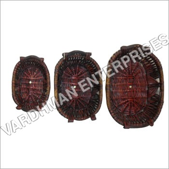 Designer Wooden Basket Set