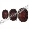 Designer Wooden Basket Set