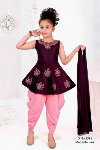 Girls Stylish Traditional Clothing