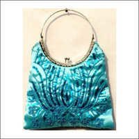 Sequin Canvas Hobo Bags