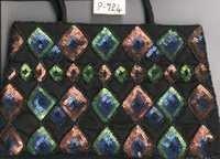 Black Sequin Handbag