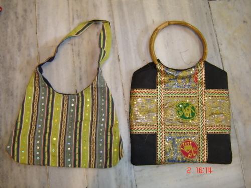 Sequin Patchwork Handbags