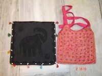 Patchwork Sequin Sari Bags