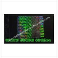 Holographic ID Card Overlay (Secure-Genuine)