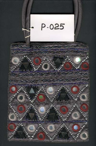 Embroidered Sequin Hand Bag