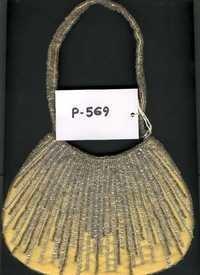 Zara Gold Sequin Bag