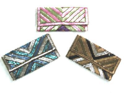 Sequin Clutch Bag