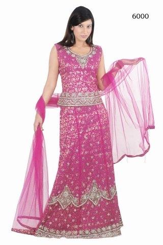 Semi Bridal Lehanga Choli