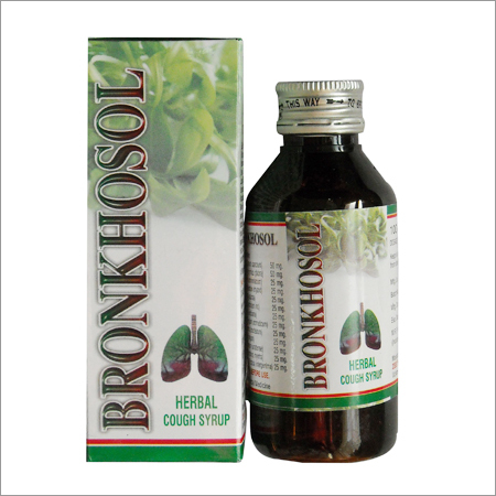 Bronkhosol Herbal Cough Syrup