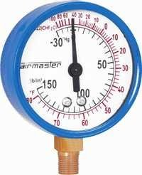 Refrigeration Pressure Gauge