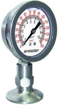 SS Sanitary Pressure Gauge