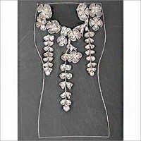 Floral Applique Gown Bodice