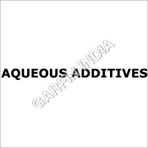Aqueous Additives