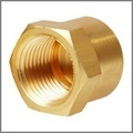 Brass Seal Plug Internal Flare End