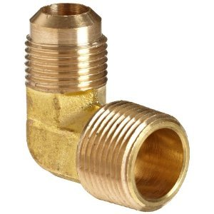 Brass 90 Flare Male Elbow
