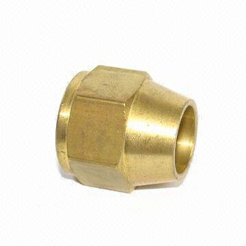 Brass Flare Nut Short