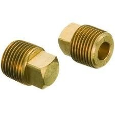 Brass Square Head Plug